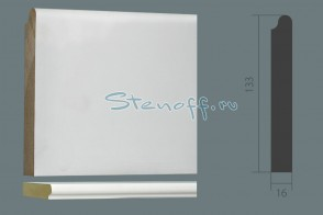 Подоконник UltraWood арт. SL 0005 (2200 х 135 х 18)