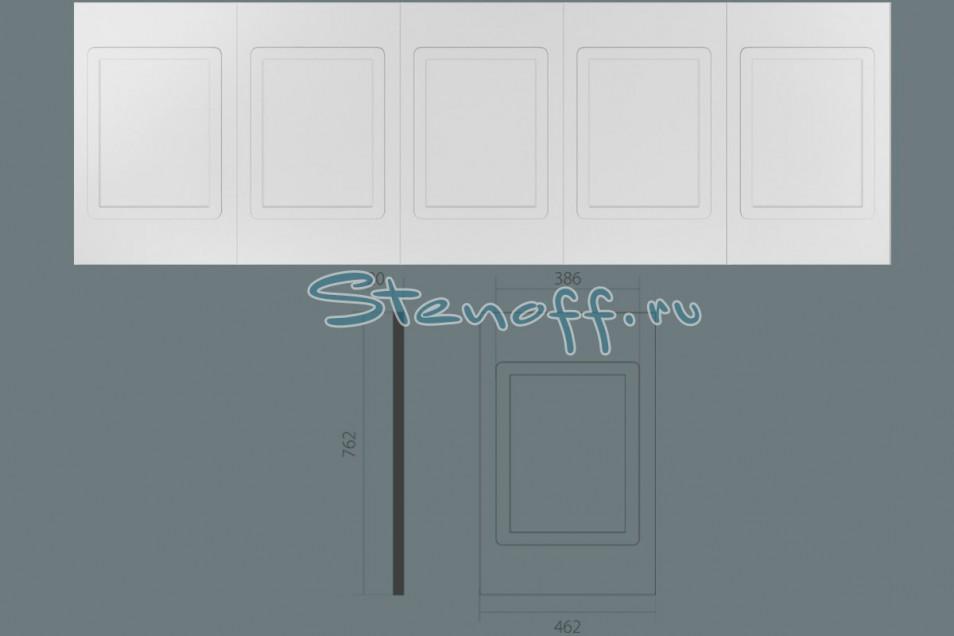 фото Стеновая панель с 5-тью филенками, арт. УА 510 (762 х 2345 х 20мм.)